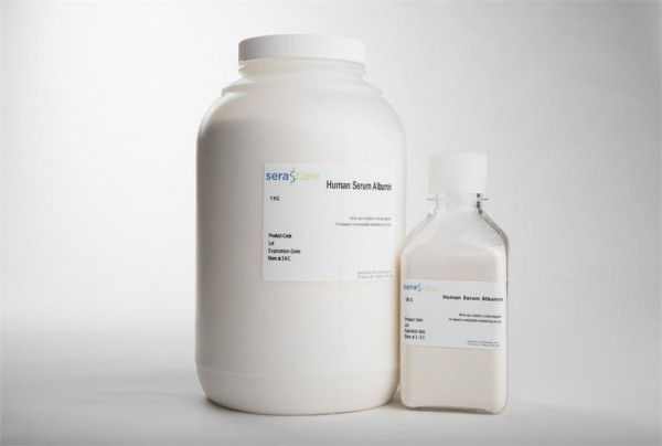 Human Serum Albumin, Fatty Acid Free, Powder
